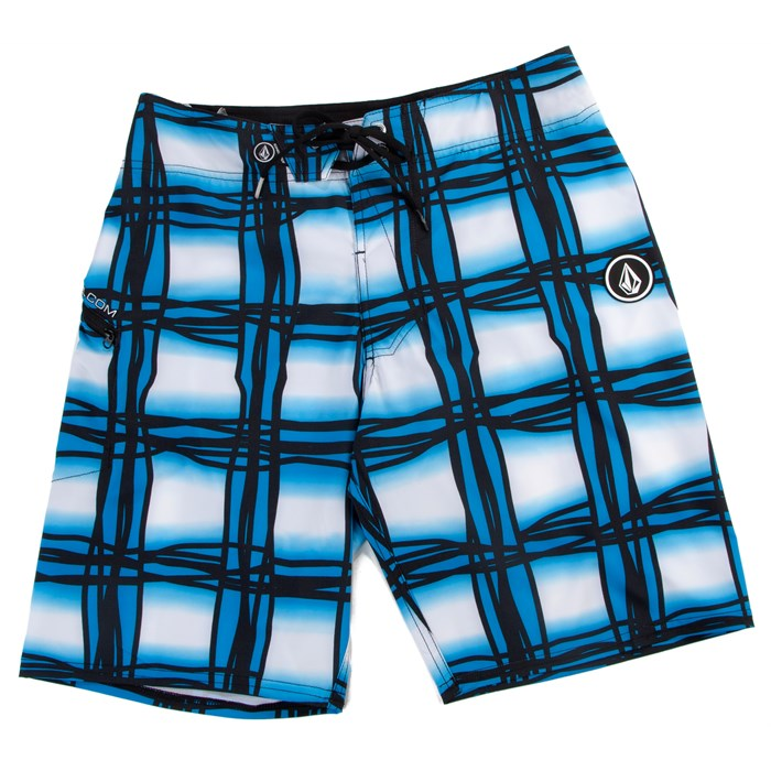 Volcom - Wavey Plaid Boardshorts