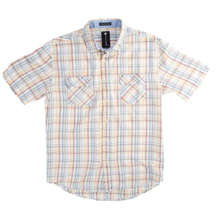 Billabong - Washed Out Short-Sleeve Button-Down Shirt