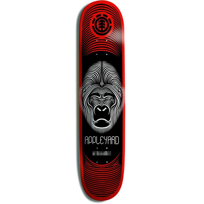 Element - Appleyard Gorilla Imprint Skateboard Deck