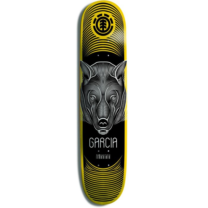 Element - Garcia Wolf Imprint Skateboard Deck