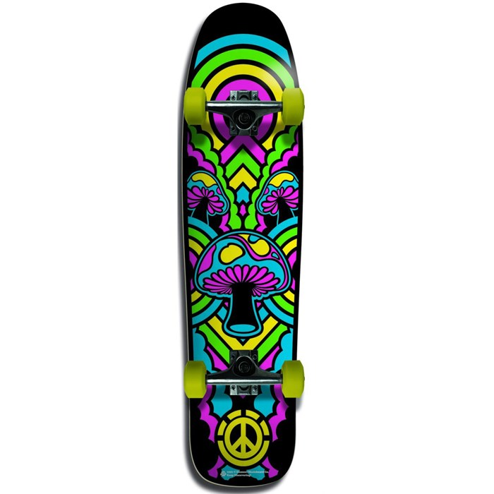 Element - Yellow Shroom Skateboard Complete