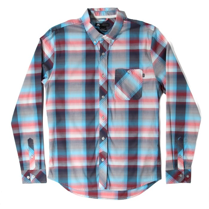 Nike SB - Killingsworth Stretch Plaid Long-Sleeve Button-Down Shirt