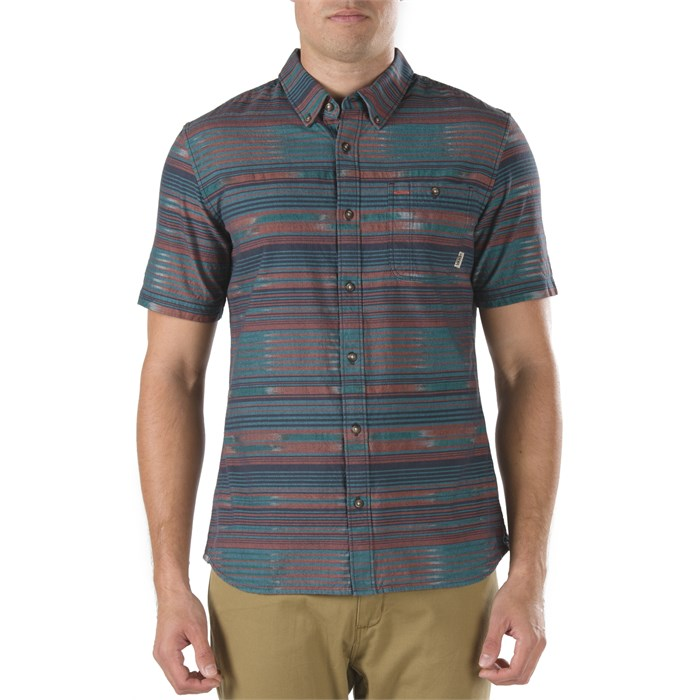 Vans - Rusden Stripe Short-Sleeve Button-Down Shirt