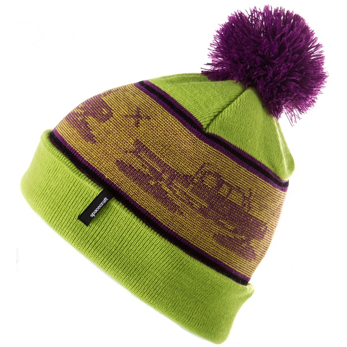 Spacecraft - Snowcat Pom Beanie