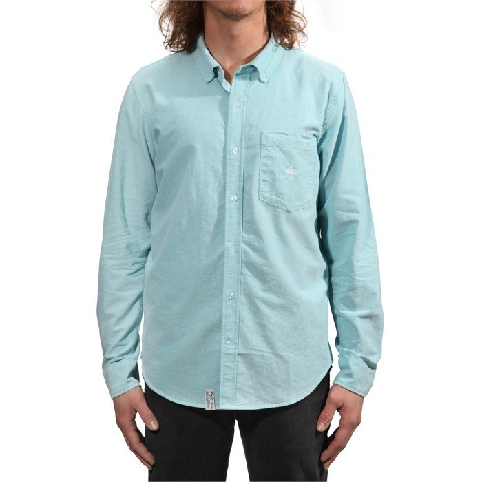 LRG - Core Collection Oxford Long-Sleeve Button-Down Shirt