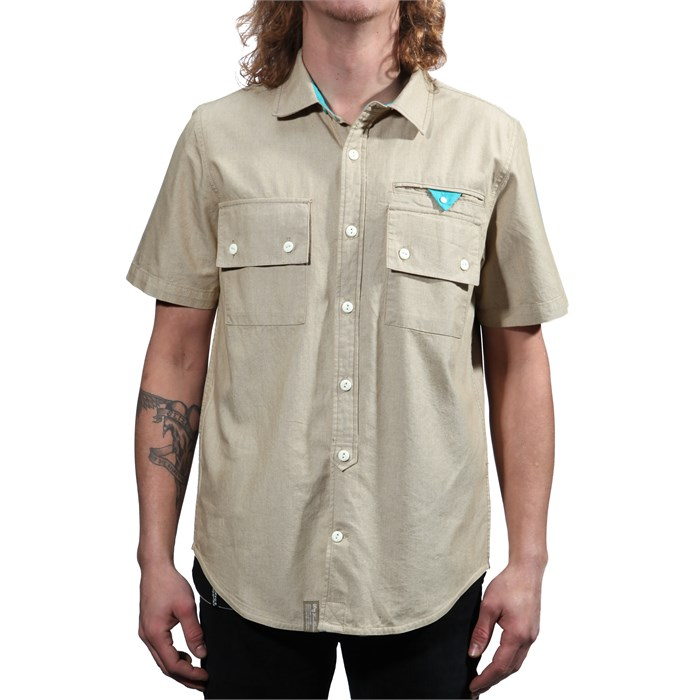 LRG - Unnatural Palete Short-Sleeve Button-Down Shirt