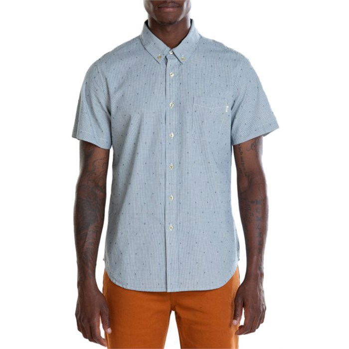 Obey Clothing - Crossline Short-Sleeve Button-Down Shirt
