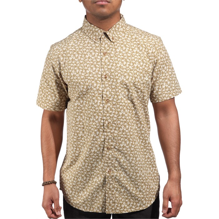 Obey Clothing - Nouveau Short-Sleeve Button-Down Shirt