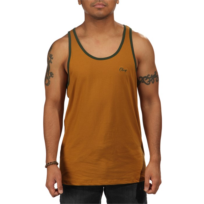 Obey Clothing - Lightweight Script Tank Top