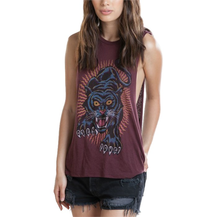 Obey Clothing - Blacklight Power Tank Top - Women's