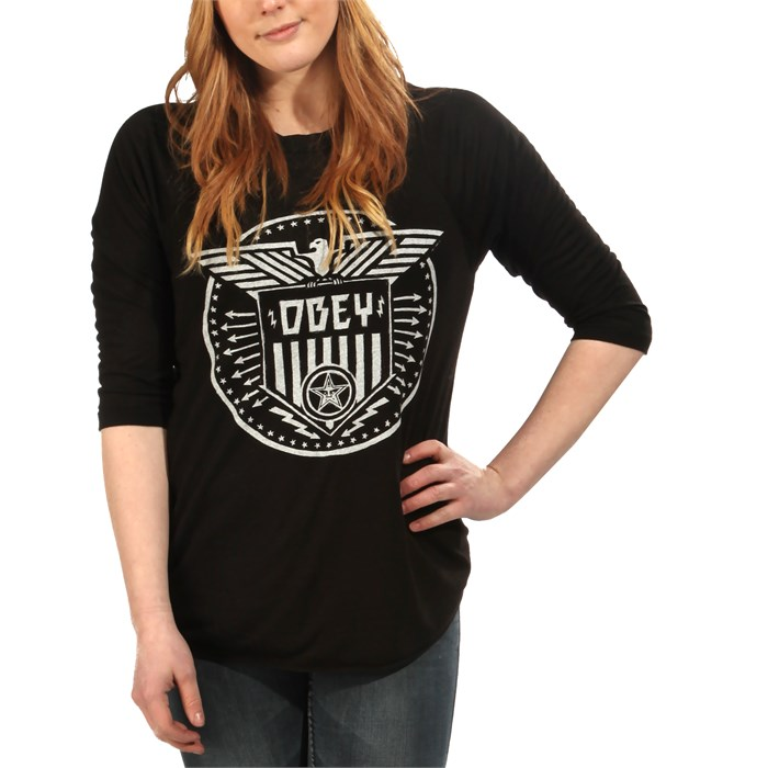 Obey Clothing - Obey Clothing Beat On The Brat Top - Women's