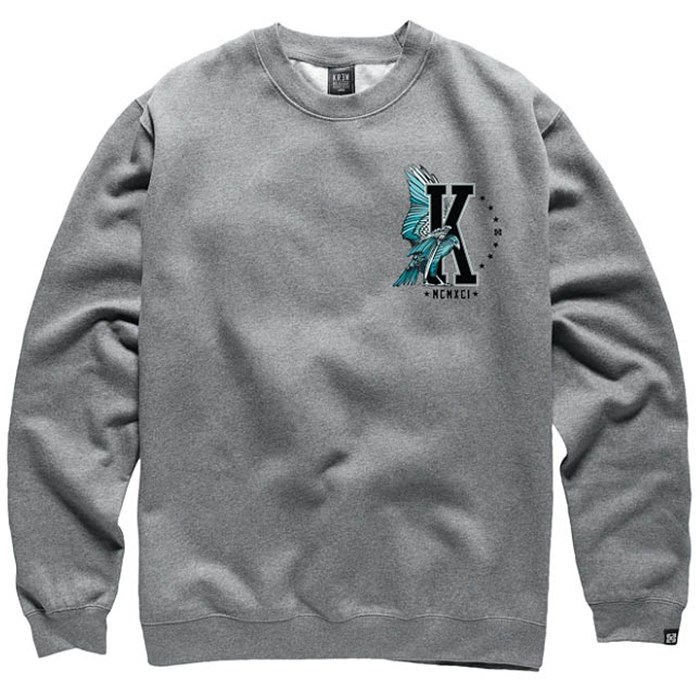 Kr3w - Hawk Crew Neck Fleece Sweatshirt