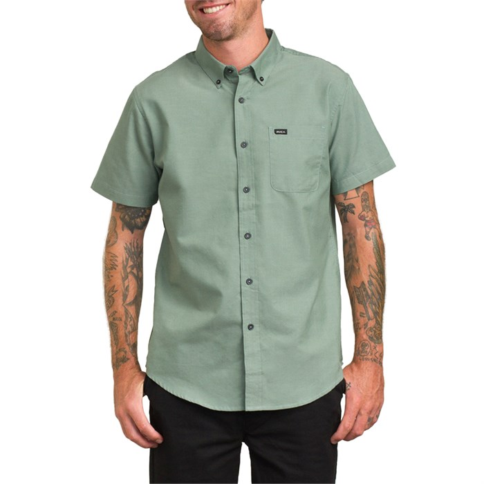 RVCA - That'll Do Oxford S/S Bottom- Down Shirt