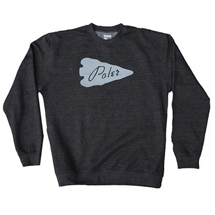 Poler - Arrow Head Crew Neck Sweatshirt
