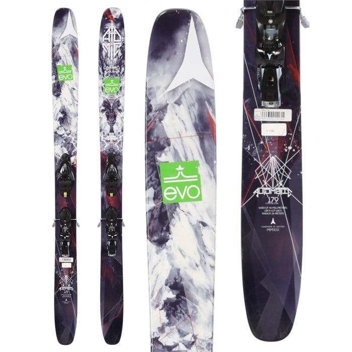 Atomic Automatic Skis + FFG 12 Demo Bindings
