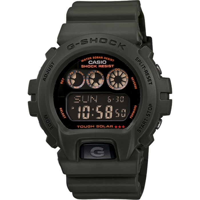 G-Shock - 6900 Solar Military Series Watch