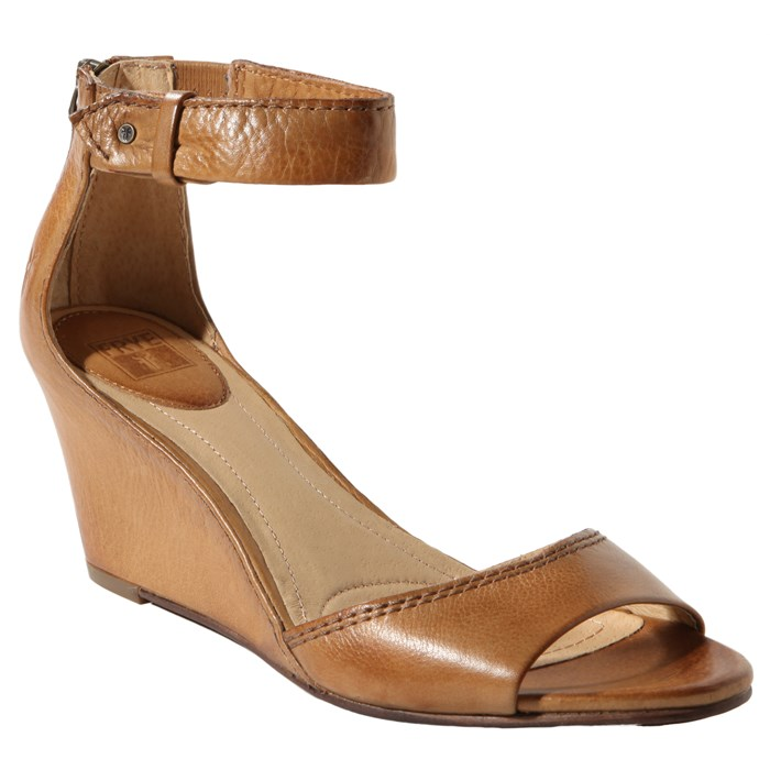 Frye - Carol Back Zip Wedges - Women's