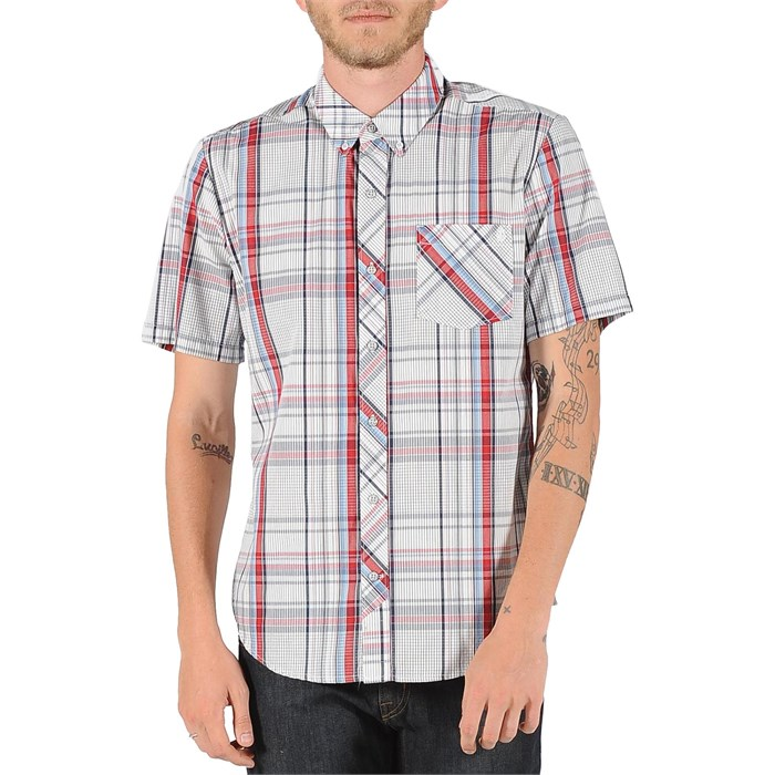 Volcom - Weirdoh Plaid Short-Sleeve Button-Down Shirt