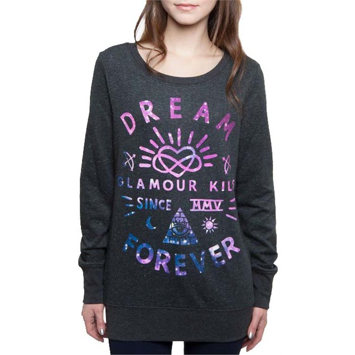 Glamour Kills - Infinite Dreamer Speckled Fleece - Women's