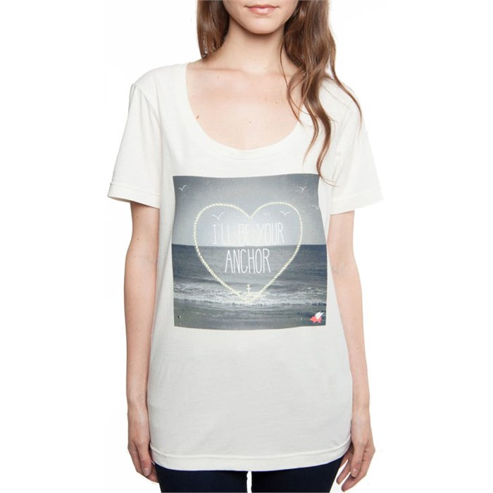 Glamour Kills - I'll Be Your Anchor Scoop Neck T-Shirt - Women's