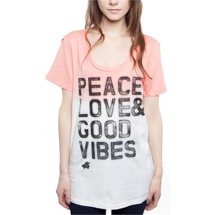Glamour Kills - Good Vibin' Scoop Neck T-Shirt - Women's