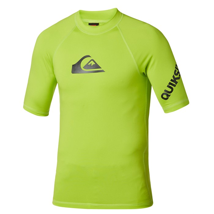 Quiksilver - All Time Short-Sleeve Rashguard 2014