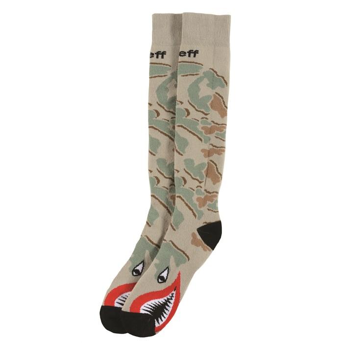 Neff - Camo Thunder Snowboard Socks