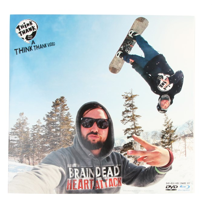 Think Thank - Brain Dead Heart Attack DVD/Blueray Combo