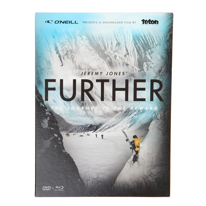 TGR - Jeremy Jones: Further DVD Combo Pack