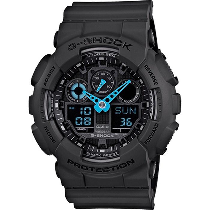 G-Shock - GA-100 Neon Highlights Watch
