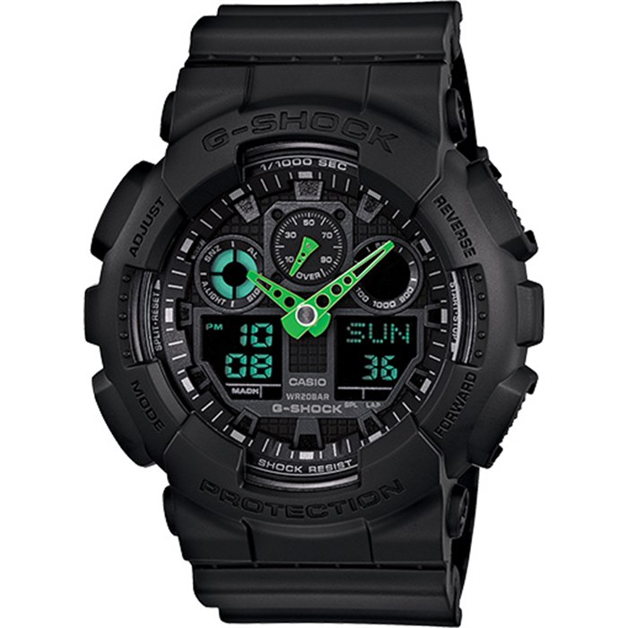 G-Shock - GA-100 Neon Highlights Watch