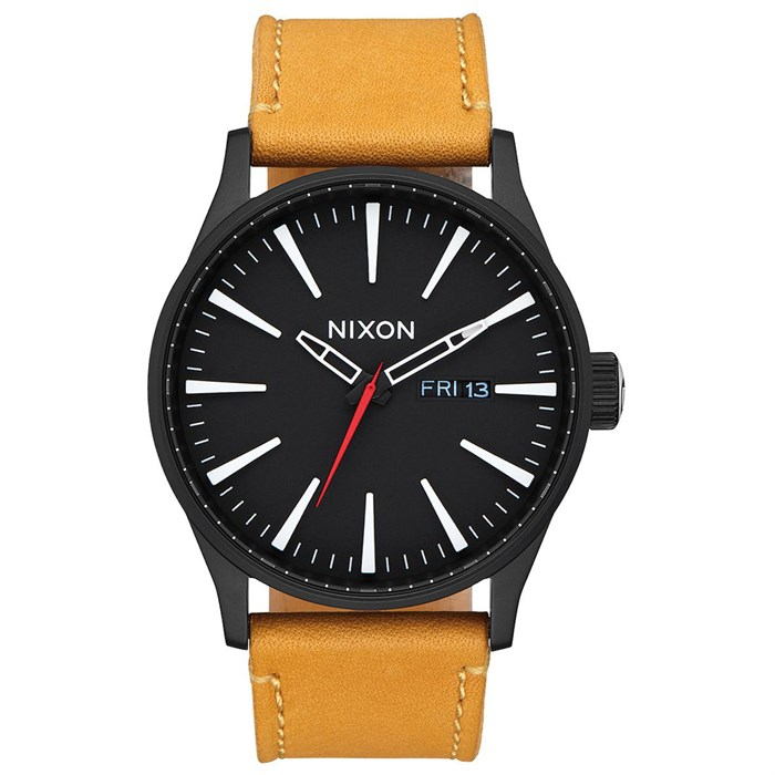 Nixon - The Sentry Leather Watch