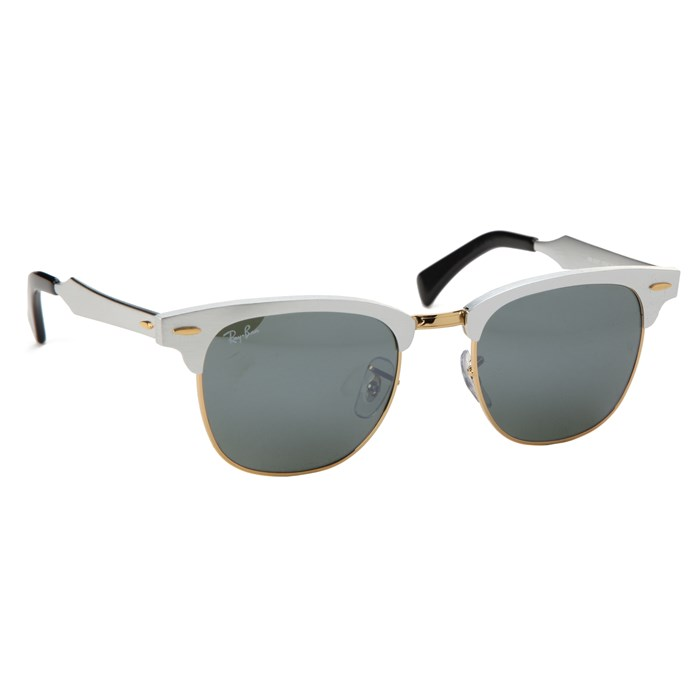 Ray Ban - RB 3507 Aluminum Clubmaster Sunglasses