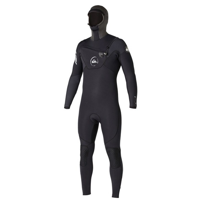 Quiksilver - Cypher 5/4/3 Hooded Chest Zip Hydrolock Wetsuit