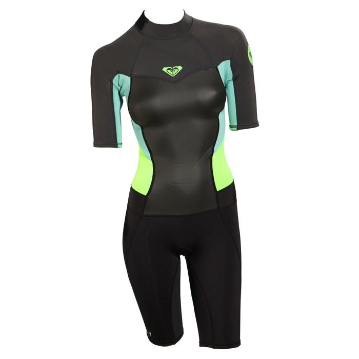 Roxy - Syncro 2 mm Short Sleeve Back Zip Springsuit - Women's