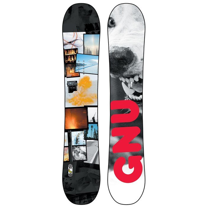 GNU - Dirty Pillow BTX Snowboard - Blem 2014