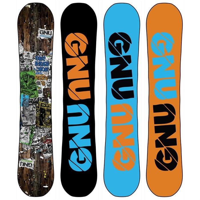GNU - Rider's Choice C2PTX Snowboard - Blem 2014