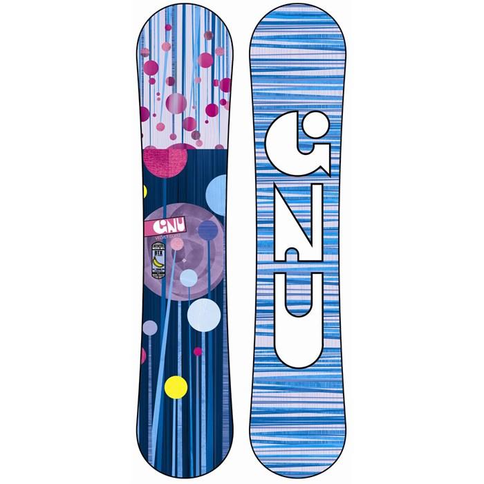GNU - B-Mini BTX Snowboard - Blem - Girl's 2014