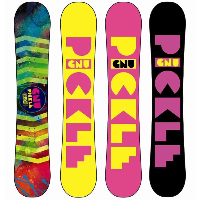 GNU - Ladies Pickle PBTX Snowboard - Blem - Women's 2014