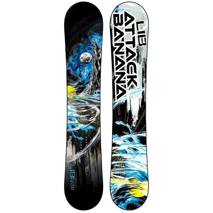 Lib Tech - Attack Banana EC2BTX Snowboard - Blem 2014