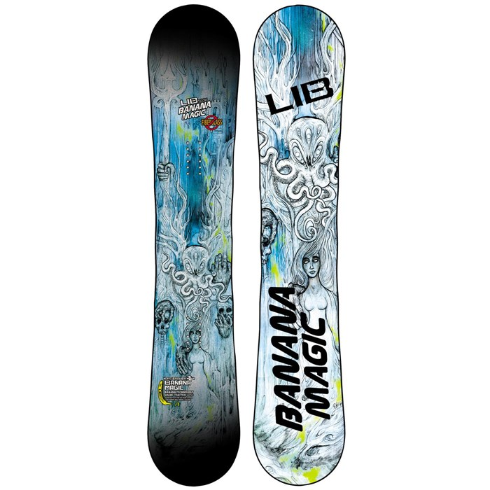 Lib Tech - Banana Magic Enhanced BTX HP Snowboard - Blem 2014