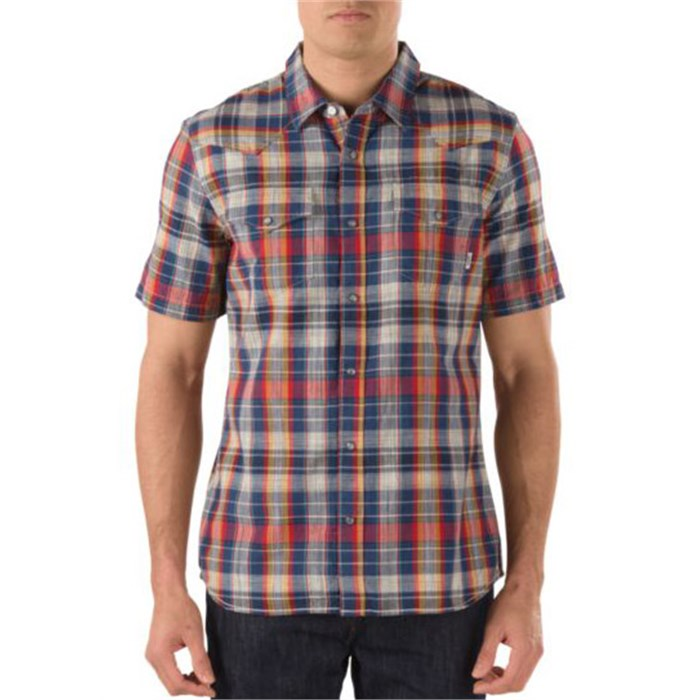 Vans - Edgeware Short-Sleeve Button-Down Shirt