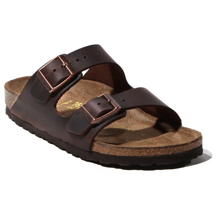 Birkenstock - Arizona Oiled Leather Sandals - Women's