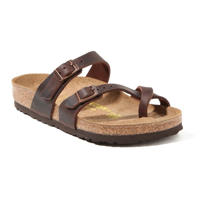 Birkenstock - Mayari Oiled Leather Sandal - Women's