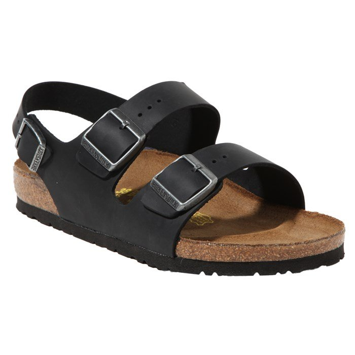 Birkenstock - Milano Oiled Leather Sandal - Women's