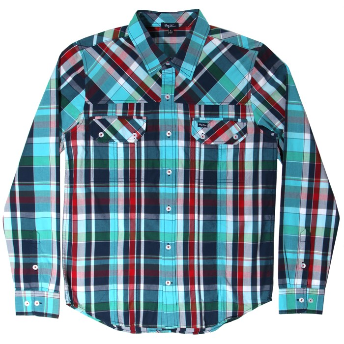 LRG - Higher Field Long-Sleeve Button-Down Shirt