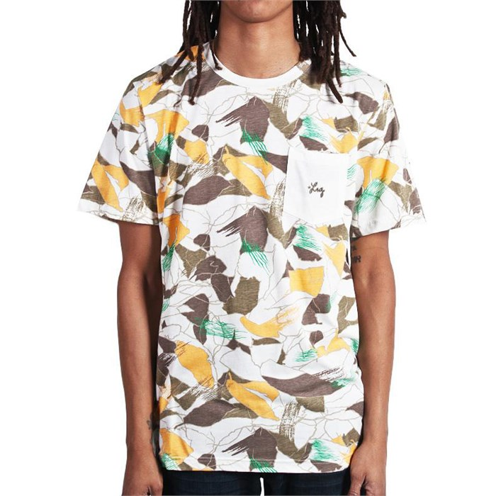 LRG - La Coca Camo Knit Pocket T-Shirt