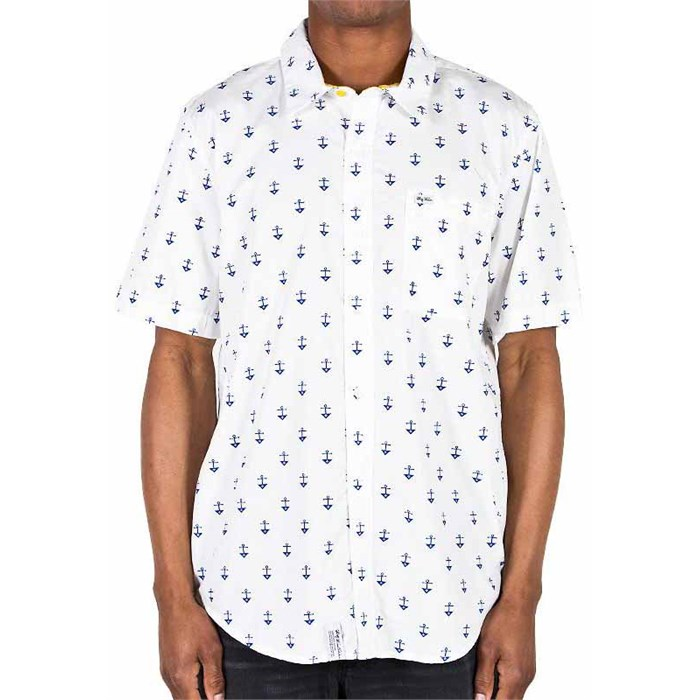 LRG - Stay Anchored Short-Sleeve Button-Down Shirt
