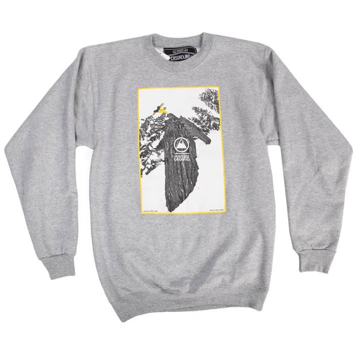 Casual Industrees - Tree Plant Crewneck Sweatshirt