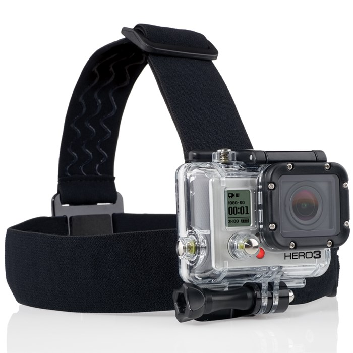 GoPro - Head Strap Mount + Quick Clip